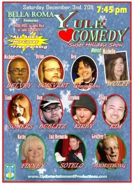 Bella Roma Yule Luv Comedy 12.03.11 2.0