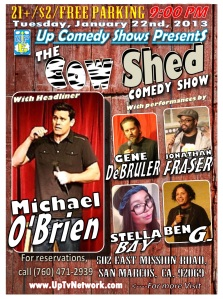 Cowshed Comedy Show 1.22.13 1.0