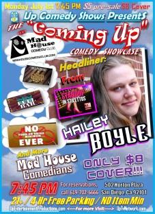 CUCS MadHouse Monday 7.01.13 Hailey Boyle 1.0