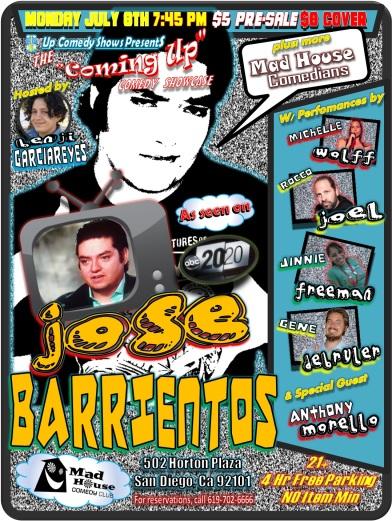 CUCS MadHouse Monday 7.08.13 Jose Barrientos All 2.0