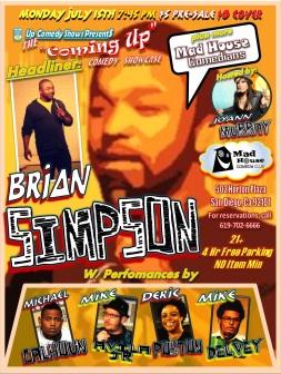 CUCS MadHouse Monday 7.15.13 Briasn Simpson All 2.0