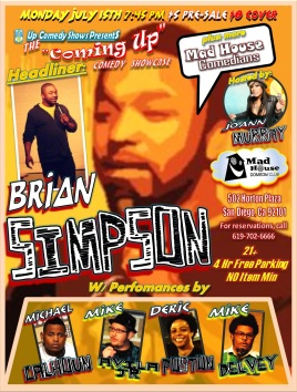 CUCS MadHouse Monday 7.15.13 Briasn Simpson All 2.0