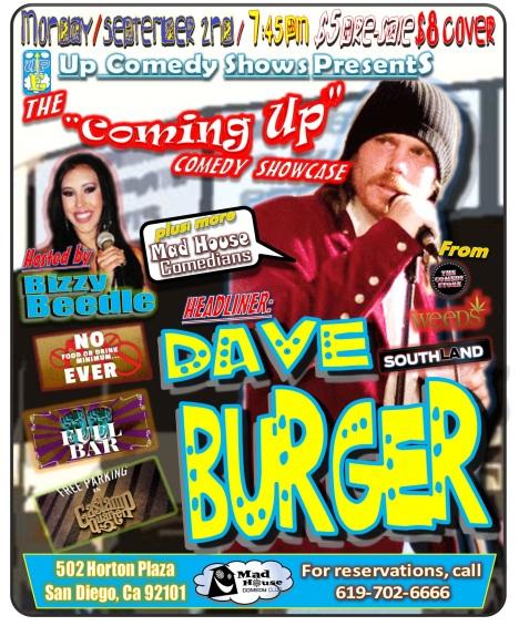 CUCS MadHouse Monday 9.02.13 Burger 1.0