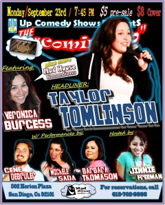 CUCS MadHouse Monday 9.23.13 Taylor Tomlinson
