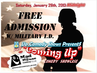 Free Admission to Military