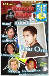 June 25th Comedy Show Temp Flier