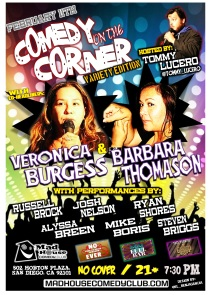 LUCERO Comedy On The Corner 02.11.14 1.0