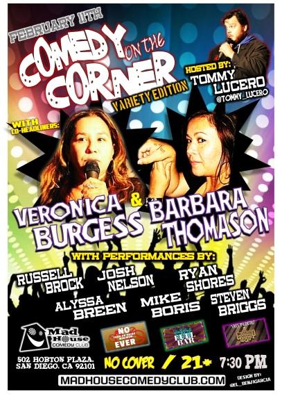 LUCERO Comedy On The Corner 02.11.14 1.0