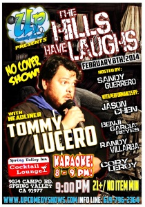 Spring Valley Inn Karaoke Comedy 02.08.14