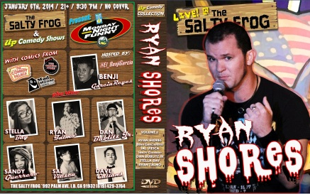 TSF MNF 01.06.13 Ryan Shores DVD COVER POSTER 1.0