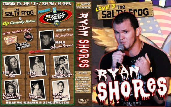 TSF MNF 01.06.13 Ryan Shores DVD COVER POSTER 1.0