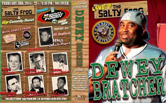 TSF MNF 02.03.13 DEWEY BRATCHER DVD COVER POSTER 1.0
