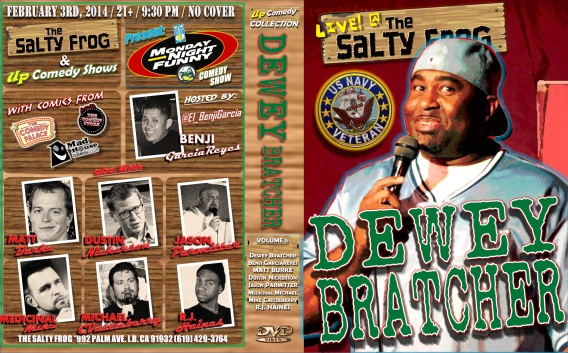 TSF MNF 02.03.13 DEWEY BRATCHER DVD COVER POSTER 1.0