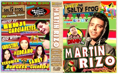TSF MNF 05.05.14 Martin Rizo DVD COVER POSTER 2.0 The Ladies