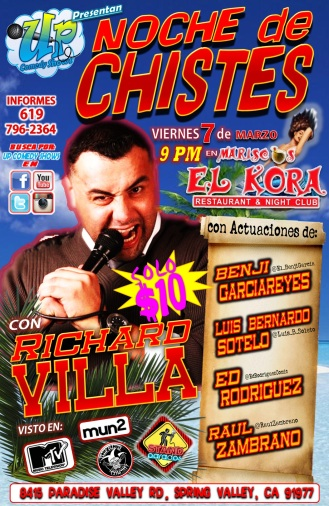 UCS El Kora Noche De Chistes 03.07.14 2.0