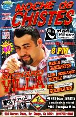 UCS Noche De Chistes Poster 04.08.14 1.0