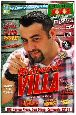 UCS Tres Equis Espanol MadHouse Thursday 10.03.13 Richard Villa 1.0