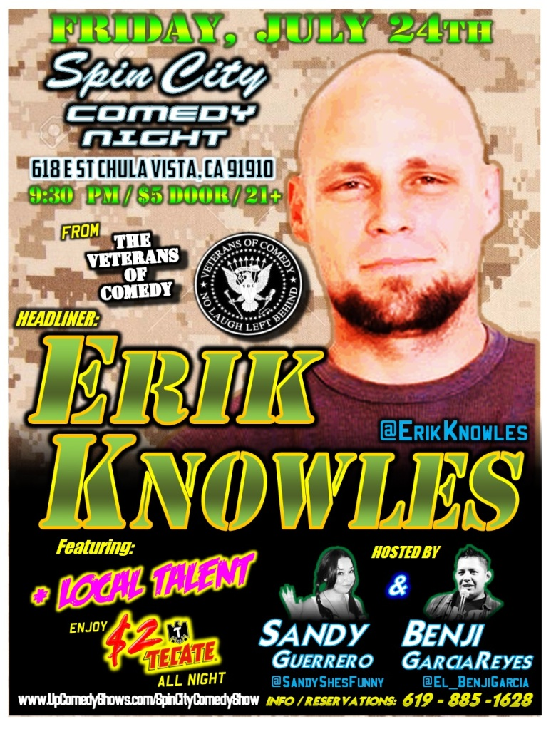 SPIN CITY COMEDY 07.24.15 Knowles 1.0