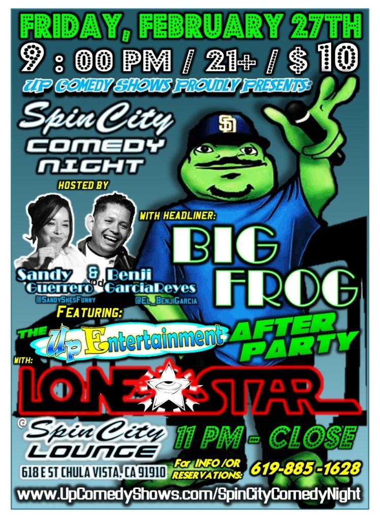 SCL 02.27.15 Big Frog LoneStar 1.0