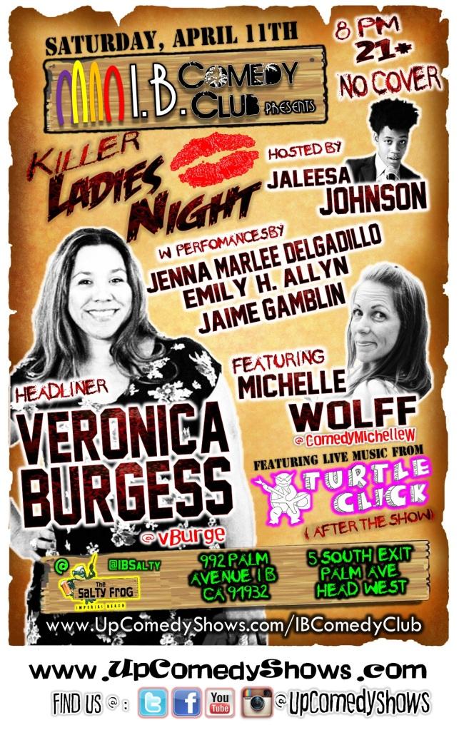 IBCC at TSF 04.11.15 Killer Ladies Night FULL