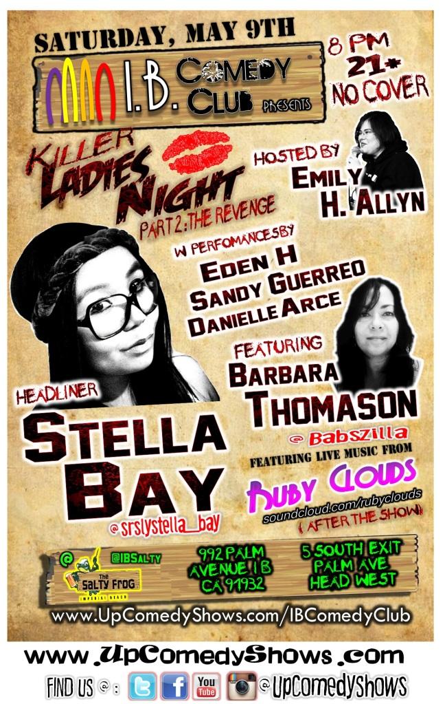 IBCC at TSF 05.09.15 Killer Ladies Night FULL