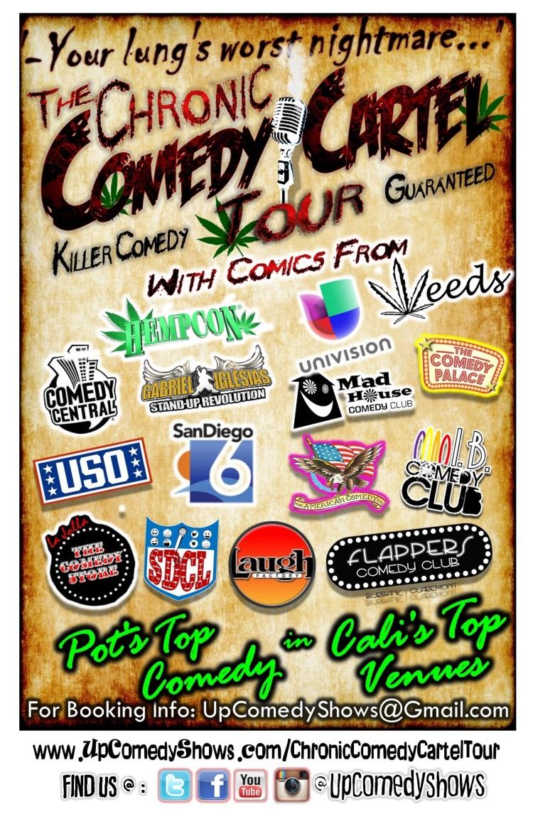 Chronic Comedy Cartel Gen Info Poster