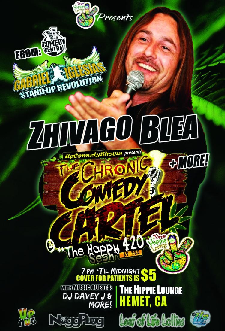 04.20.16 Chronic Comedy Cartel Zhivago 1.0