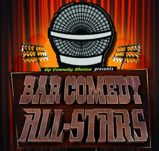 Bar Comedy All-Stars Badge Logo