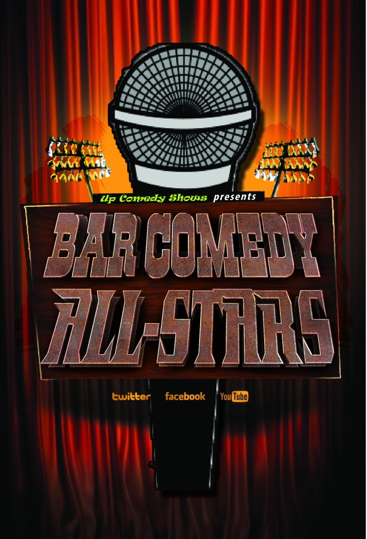 Bar Comedy All-Stars Poster Logo