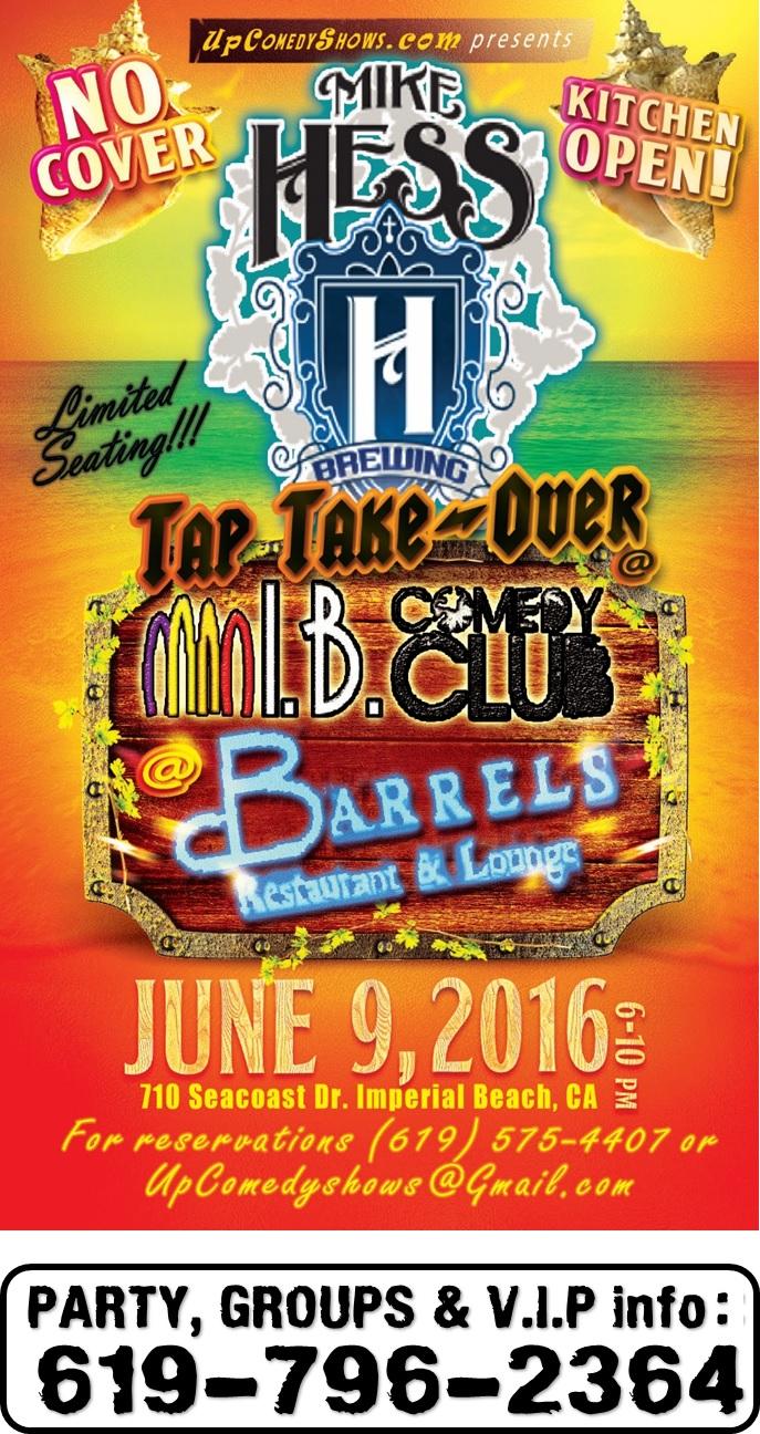 06.09.16 IBCC Barrels Mike Hess TTO 2.0 LEGAL