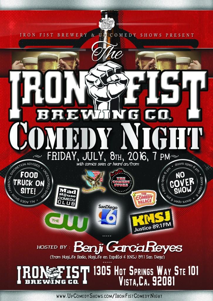 07.08.16 Iron Fist Comedy Night 1.0