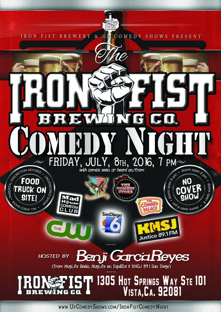 07.08.16 Iron Fist Comedy Night 1.0
