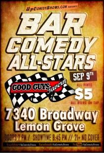 Bar Comedy All Stars 09.09.17