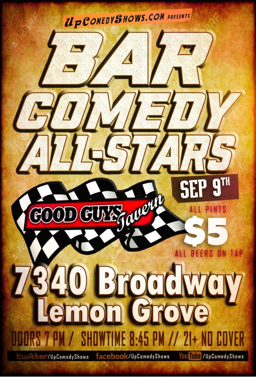 Tag Bar Comedy All Stars