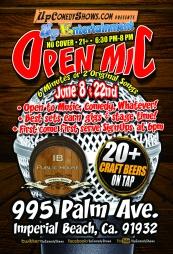 IBCC Open Mic - June