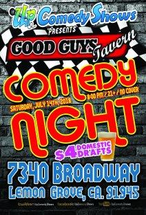 Good Guys Comedy Night - 07.18.18 - 01