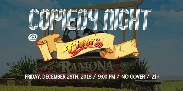 Cheers Ramona Comedy Banner General