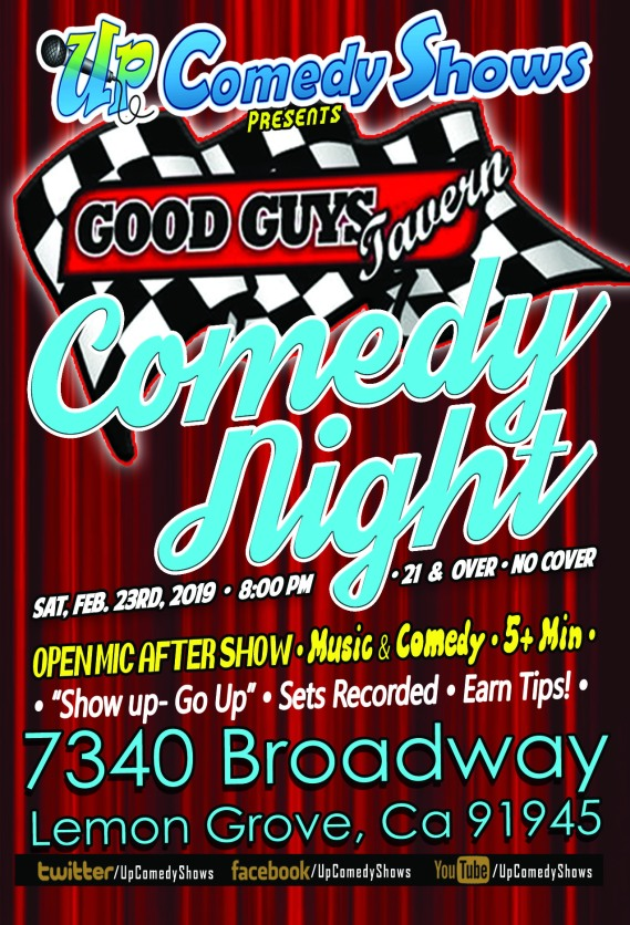 Good Guys Comedy Night - 02.23
