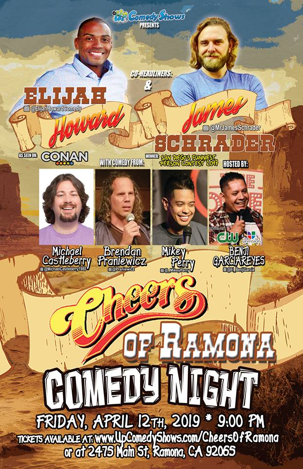 Cheers Of Ramona 04.12.19