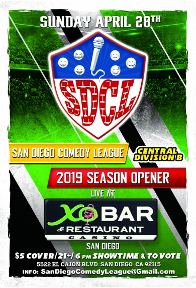 SDCL Gameday Poster - CD - XO Bar Lukcy Lady
