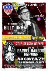 SDCL Gameday Poster - ND - Barrel Harbor 01 - Billy Orme
