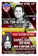 SDCL Gameday Poster - ND - Barrel Harbor 01 - Colton Irvine