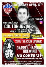 SDCL Gameday Poster - ND - Barrel Harbor 01 - Colton Irvine