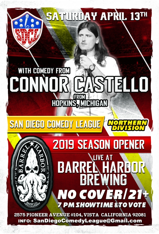 SDCL Gameday Poster - ND - Barrel Harbor 01 - Conno D Castello