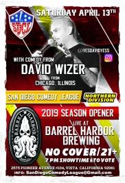 SDCL Gameday Poster - ND - Barrel Harbor 01 - David Wizer
