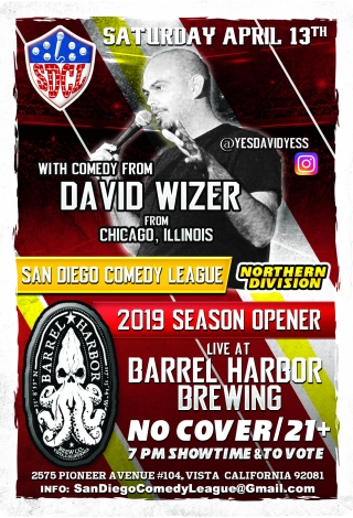 SDCL Gameday Poster - ND - Barrel Harbor 01 - David Wizer