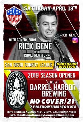 SDCL Gameday Poster - ND - Barrel Harbor 01 - Rick Gene