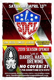 SDCL Gameday Poster - ND - Barrel Harbor