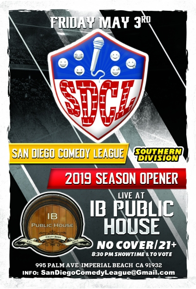 SDCL Gameday Poster - SD - IB Public House