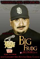 Thorne Of Jokes 2019 Event Poster - BigFrog - 04.17.19